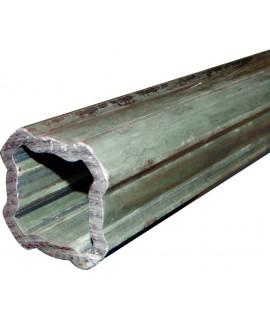 TUBE 1,00M EXT. SFT QUADRILOBE 53,9X3,25 BYPY