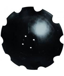 DISQUE CRENELE FOND PLAT D610X5 4T AD.AGRISEM