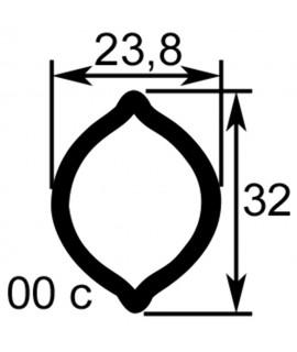 TUBE PROFIL (00c) LG.1450 INT.23,8X32