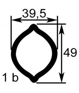 TUBE PROFIL (1B) LG.960 INT.39,5X49X5