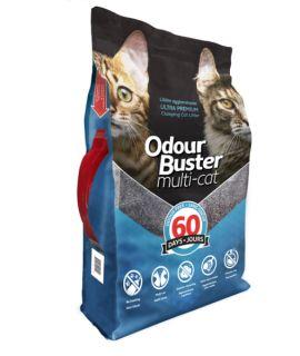 Litière Odour Buster Multi-Cat 12KG