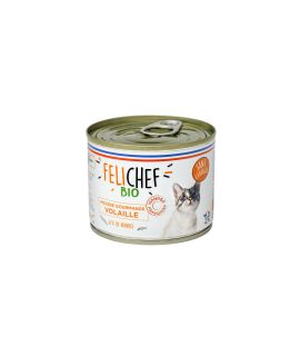 Mousse Chat adulte volaille 200G