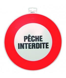 """SIGNALETIQUE """"PECHE INTERDITE"""""""