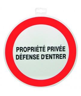 SIGNALETIQUE PROPRIETE PRIVEE DEF. D'ENTRER