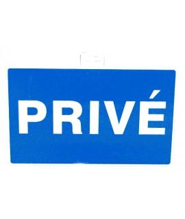 """SIGNALETIQUE """"PRIVE 330X200"""""""