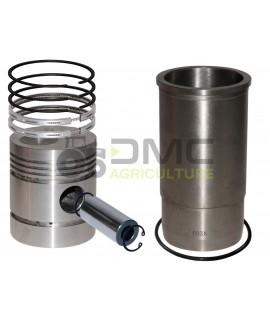 Chemise-piston-segments