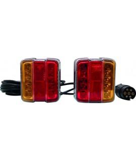 FEUX LED KIT MAGNETIQUE 4 FCT D/G 7,50 12V