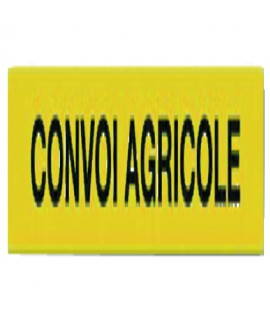 PANNEAU CONVOI AGRICOLE CLASSE 2 1900x250MM ALUMINIUM