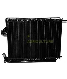 Condenseur climatisation et refroidisseur d'huile