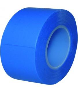 LOT 10 ROULEAUX RUBAN PVC BLEU