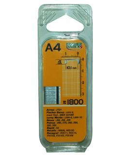 BTE DE 1800 AGRAFES 4MM / AGRAFEUSE MEK5310M