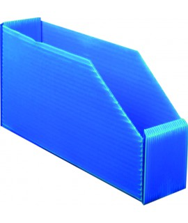 BOITE BLEUE PLASTIBOX 380X90X105