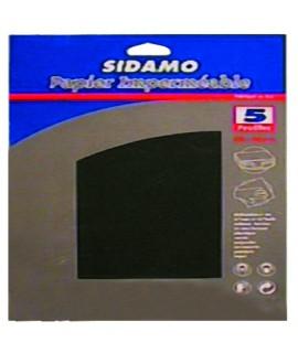 PAPIER IMPERMEABLE 230X280 GR600 BLISTER X5