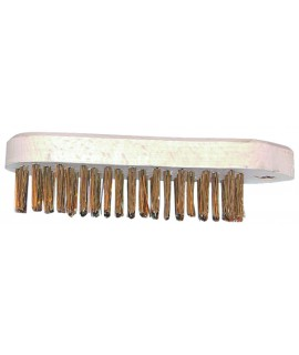BROSSE VIOLON 5 RANGS METAL