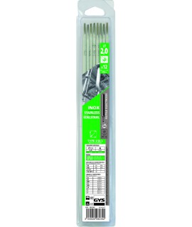 ELECTRODE INOX 316L D 2 BLISTER DE 12 GYS