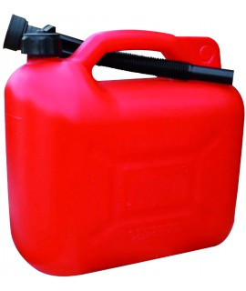JERRYCAN 10 LITRES ''ECO'' ROUGE