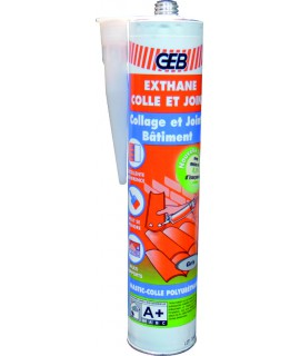 EXTHANE COLLE & JOINT CARTOUCHE 300 ML GRIS