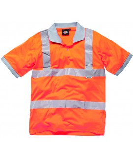 POLO VISIBILITE ORANGE TXXL 100% POLY