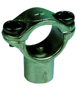ETRIER POUR TUBE INOX 1/2 PERC. D,7