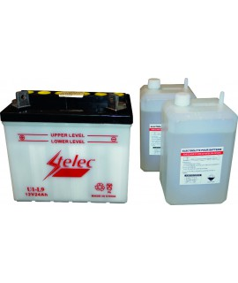BATTERIE U1L-9 + GAUCHE + PACK ACIDE