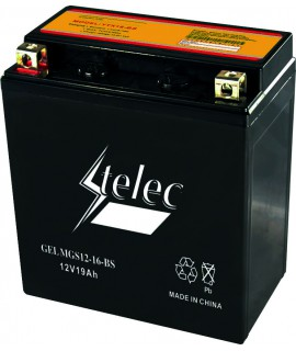 BATTERIE GEL MGS12-16-BS+GAUCHE 151x88x165