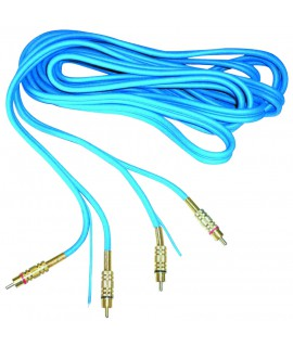 CABLE SIGNAL RCA 5M GOLD
